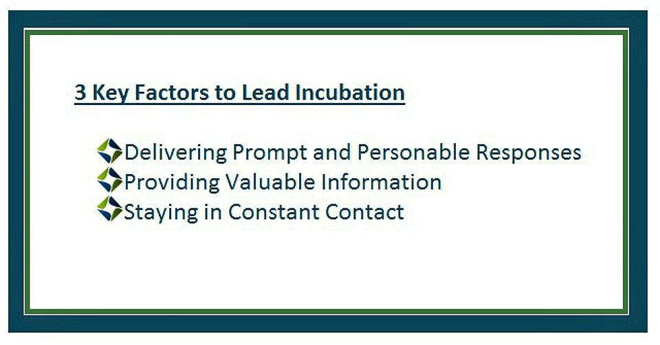 Lead Incubation