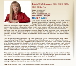 Meet Linda Craft - Raleigh Real Estate Pro