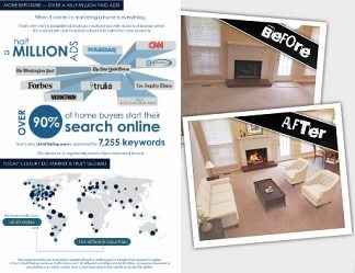 Virtual Staging & Infographic