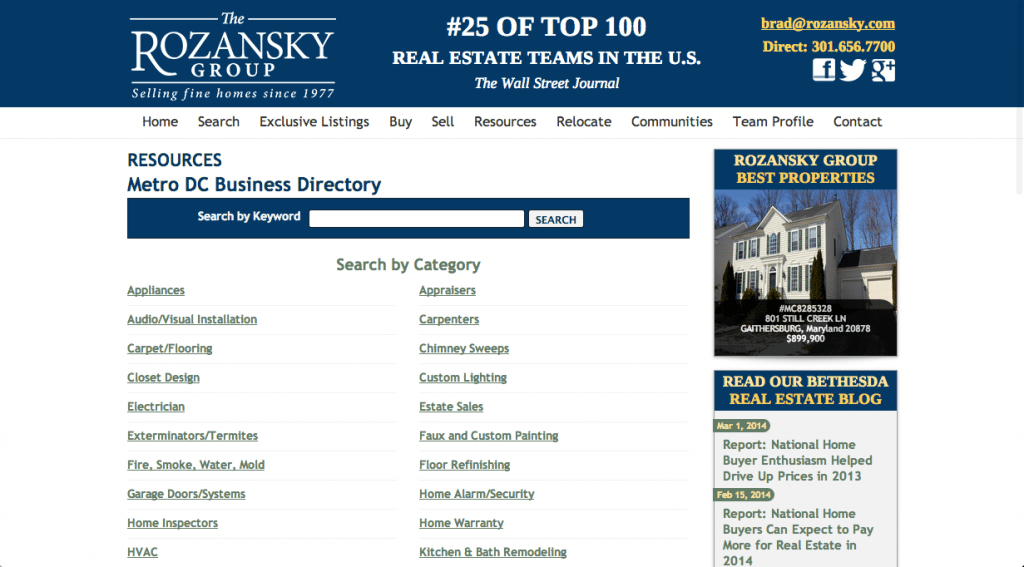 The Rozansky Group Referral Network