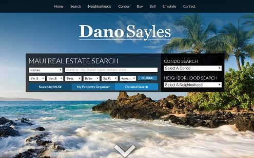 emauirealestate.com provides easy access to real estate search tools