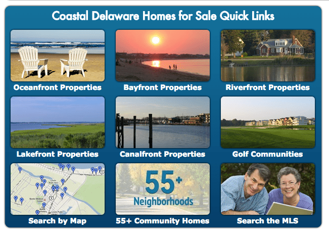 Longtail IDX Searches by Active Adults Realty Delaware