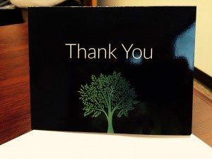 Dakno Real Estate Website Design Thank You Card