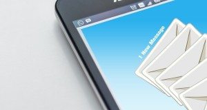 smart phone with email