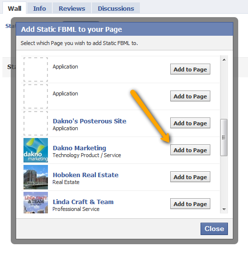 how to add paypal button to facebook fan page
